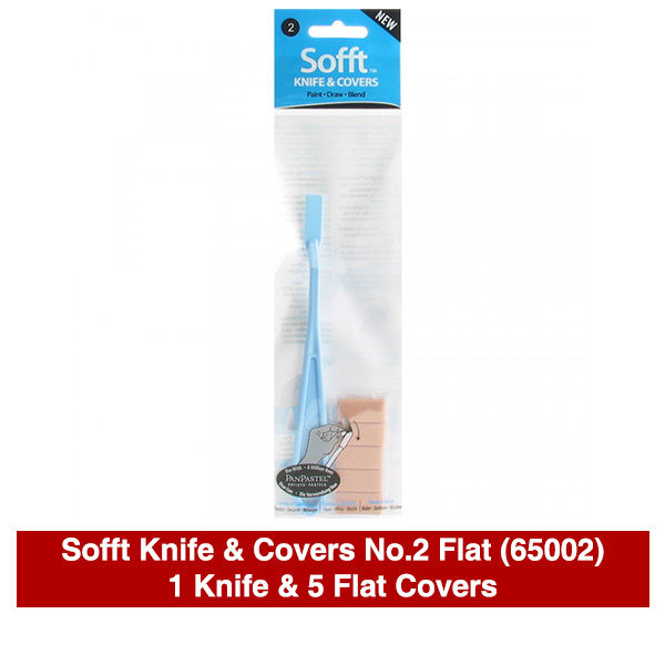 PanPastel-Sofft-Knife-&-Covers-No,2-Flat-(65002)