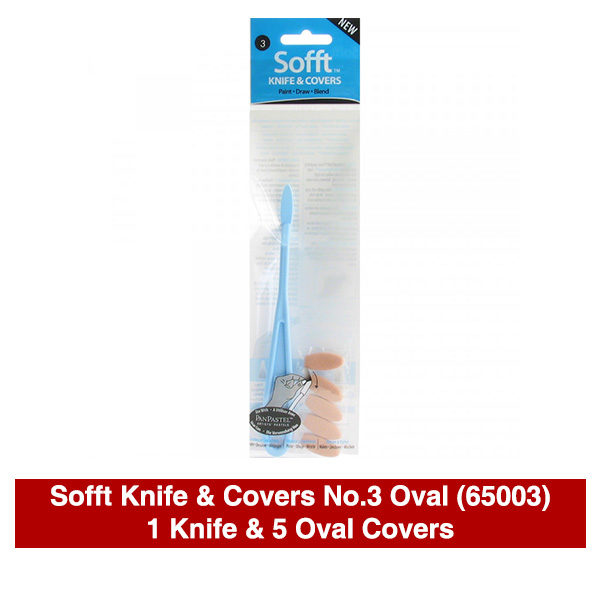 PanPastel-Sofft-Knife-&-Covers-No,3-Oval-(65003)