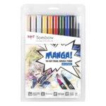 Tombow-ABT-Dual-Brush-Pen-10-Set-Manga-Shonen
