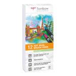 Tombow-ABT-Dual-Brush-Pen-12-Set-Pastel-Colours