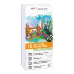Tombow-ABT-Dual-Brush-Pen-18-Set-Pastel-Colours