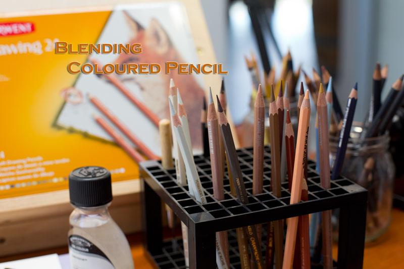 Blending Coloured Pencil – Techniques