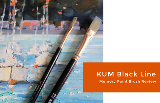 I Test the New KUM Black Line Memory Point Brushes