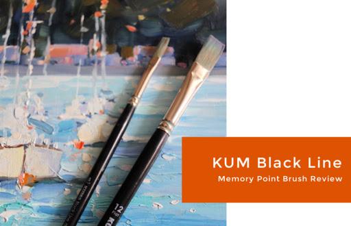 I Test the New KUM Black Line Memory Point Brushes
