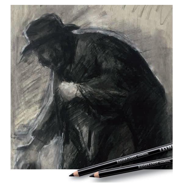 Lyra-Rembrandt-Charcoal-Pencils-Book-Artwork