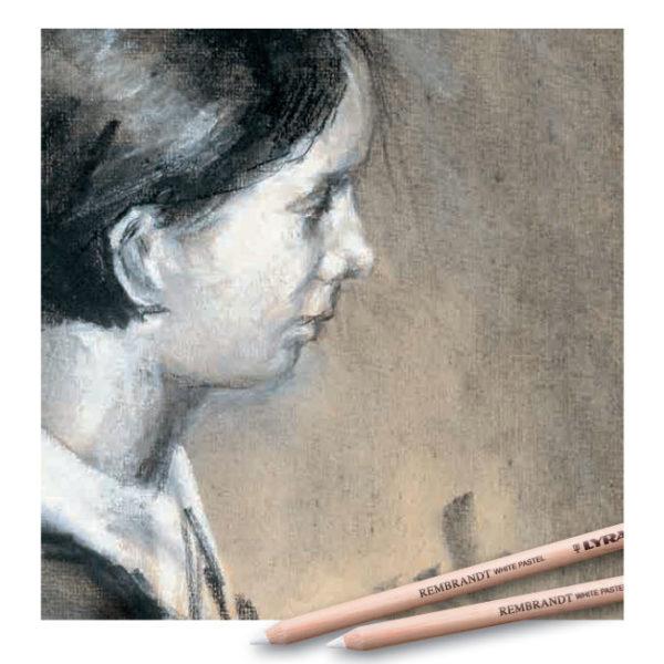 Lyra-Rembrandt-White-Pastel-Artwork