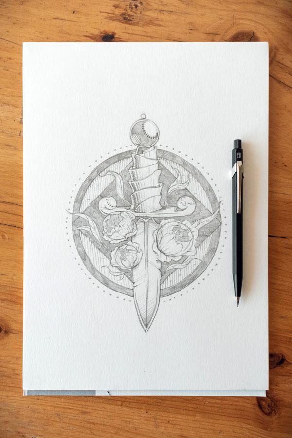 Caran D'Ache Lead Drawing