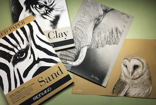 Tune into Toned Paper – Fabriano Sand and Clay Toned Paper