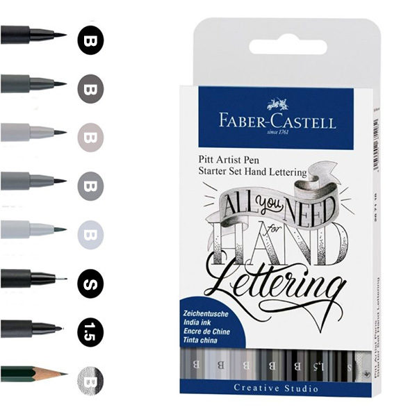 Faber-Castell-Pitt-Artist-Pen-Hand-Lettering-Starter-Set-9-pieces-all-you-need-for-hand-lettering