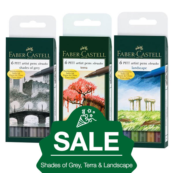 Faber-Castell-Pitt-Artist-Wallets-of-6-Sets-on-January-Sale-new