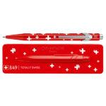 Caran-Dache-849-TOTALLY-SWISS-Ballpoint-Pen-with-Holder