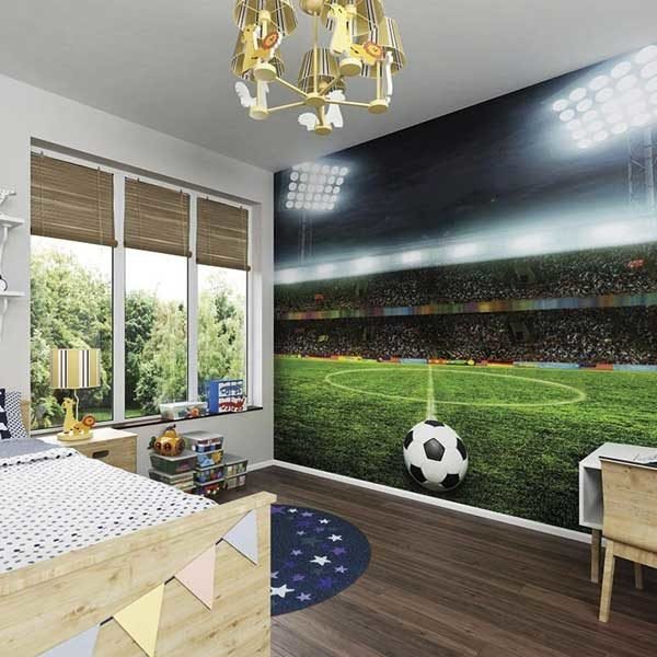 Free-Kick-Wall-Mural-XLWS0153-in-a-bedroom