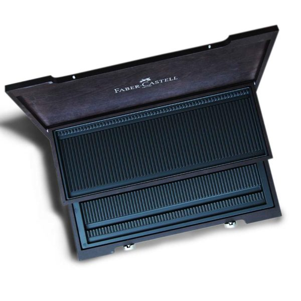Luxury Faber-Castell Empty Wooden Case 01