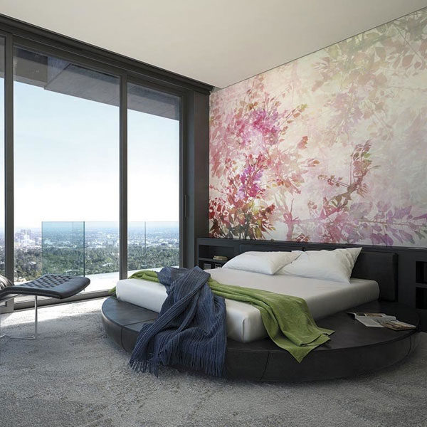 Pink-Blossom-Wall-Mural-XLWS0123-in-bedroom