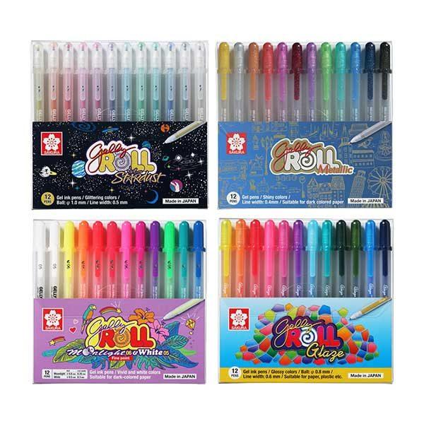 Sakura-Gelly-Roll-Combo-Set-4x12-Pen-Sets