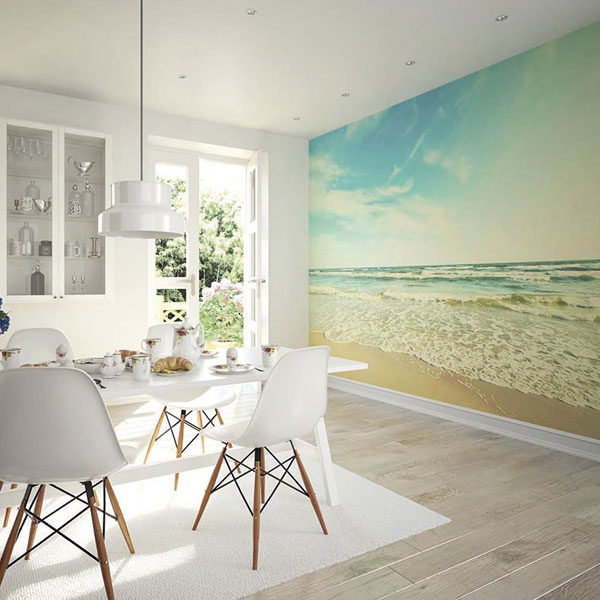 Seashore-Wall-Mural-XLWS0152-in-dining-room