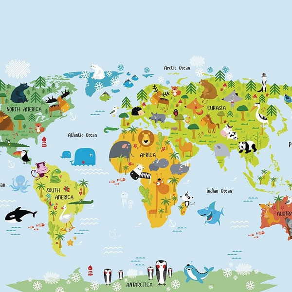 The-Whole-Wide-World-Map-Wall-Mural-XLWS0188-close-up