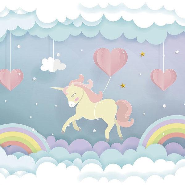Unicorn-Dream-Wall-Mural-XLWS0370-close-up