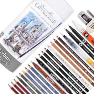 Cretacolor-Urban-Sketching-Set-of-24pc-contents-02