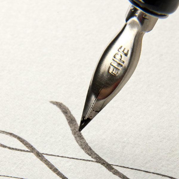 Fabriano-Leporello-Concertina-Journal-Paper-with-Calligraphy-Pen