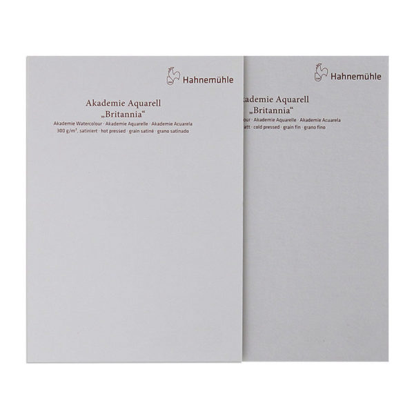 Hahnemuhle-Akademie-Aquarell-Britannia-Paper-Hot-and-Cold-Press