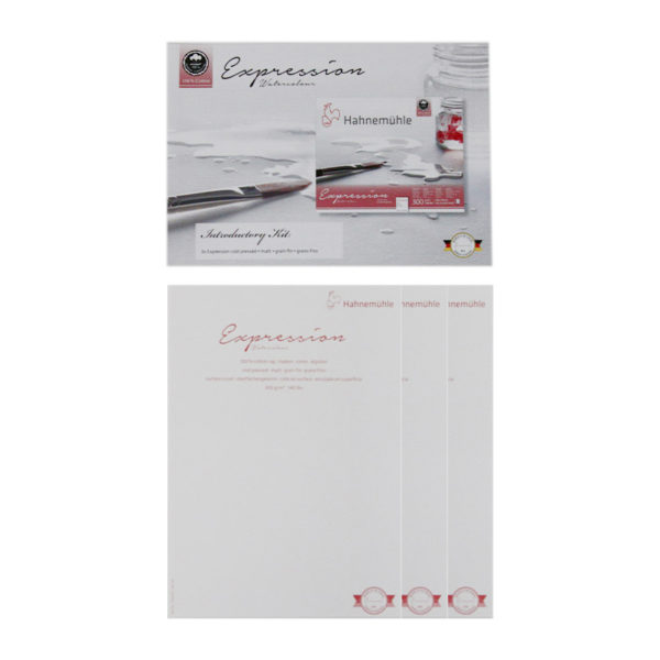 Hahnemuhle-Expression-Introductory-Kit-Paper-Sampler