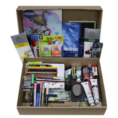 Inspiration-Box-Opened-up-with-art-supplies