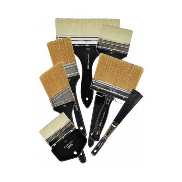 Liquitex-Freestyle-Brushes-stacked-on-top-of-each-other