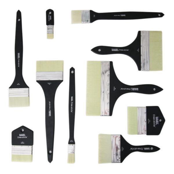 Liquitex_FreeStyle_Brushes