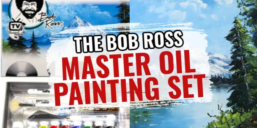 Become a Bob Ross Painting Master