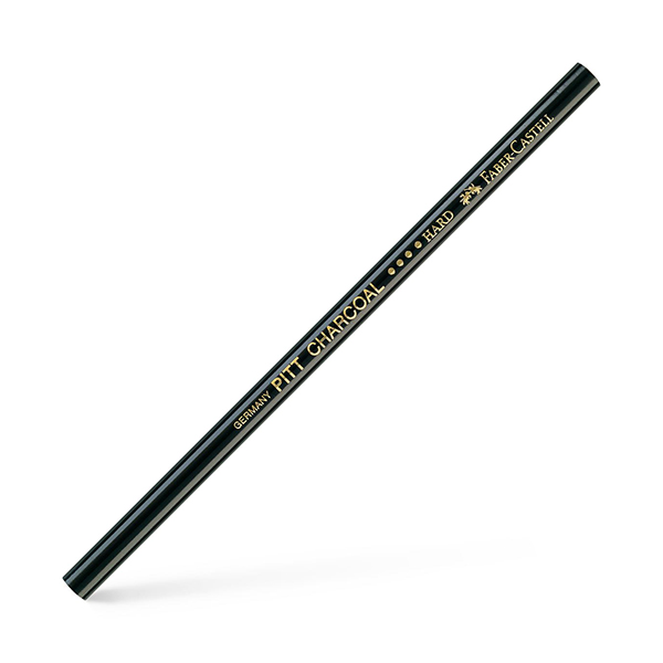Faber-Castell-Oil-free-Pitt-Natural-Charcoal-Hard-Pencil 1