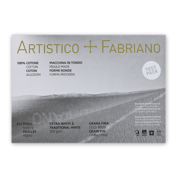 Fabriano-Artistico-Test-Pack Packaging