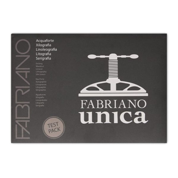 Fabriano Unica Paper Test Pack in packaging front view
