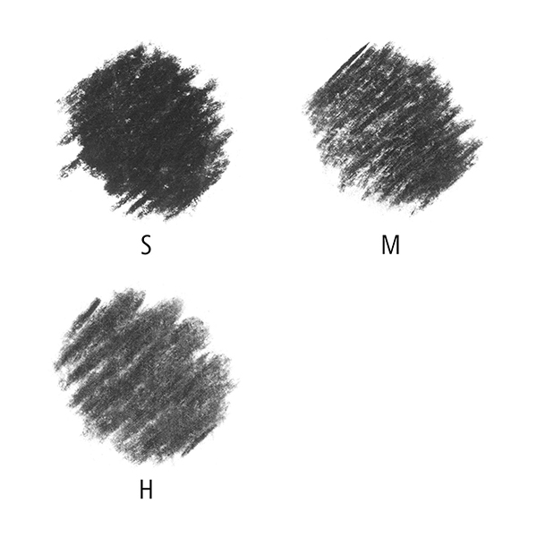 Mars-Lumograph-charcoal-Pencil-hardness-tests