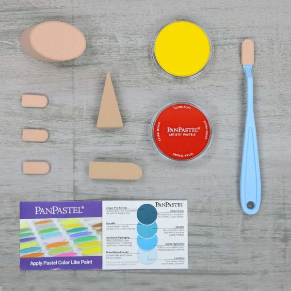 PanPastel-Trial Kit Mixing Colours_Set Contents