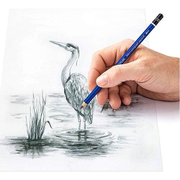 Staedtler-Mars-Lumograph-Aquarell-Graphite-Pencil-drawing-sketch