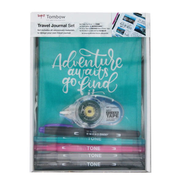 Tombow Travel Journal Set in packaging