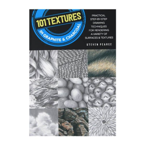 Walter Foster 101 Textures In Graphite & Charcoal Book Cover