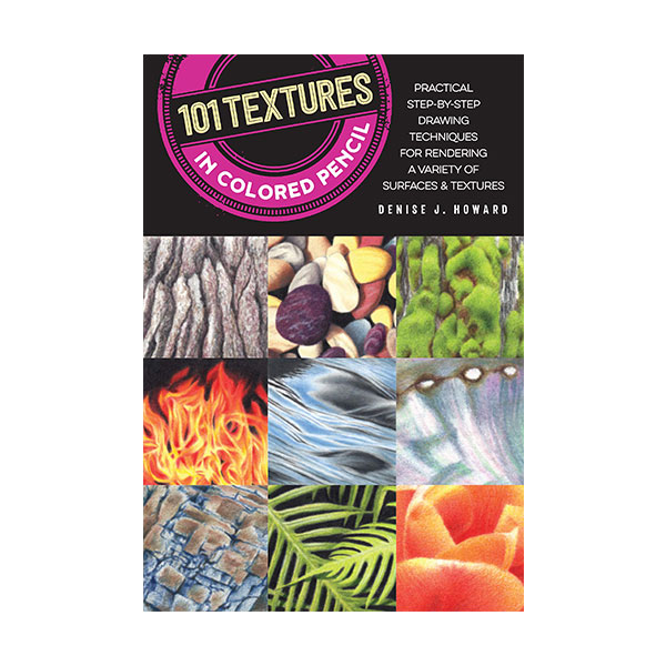 Walter-Foster-101-Textures-in-Colored-Pencil-Book-Cover-Page