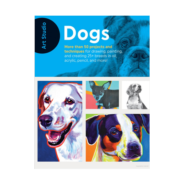 Walter-Foster-Art-Studio-Book-Dogs-Cover-Page