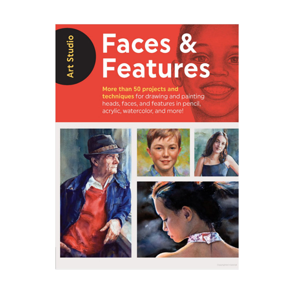 Walter-Foster-Art-Studio-Book-Faces-&-Features-Book-Cover-Page