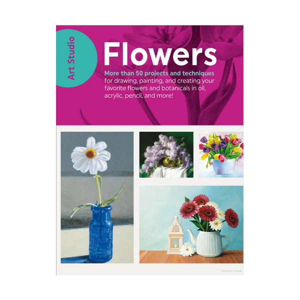 Walter-Foster-Art-Studio-Book-Flowers-Cover-Page