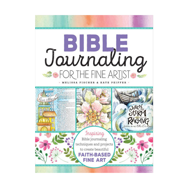 Walter-Foster-Bible-Journaling-for-the-Fine-Artist-Book-Cover-Page