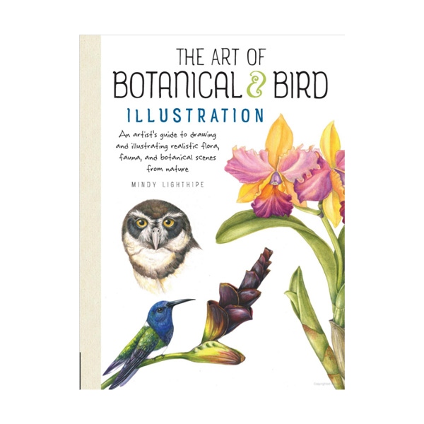 Walter-Foster-The-Art-of-Botanical-&-Bird-Illustration-Book-Cover-Page