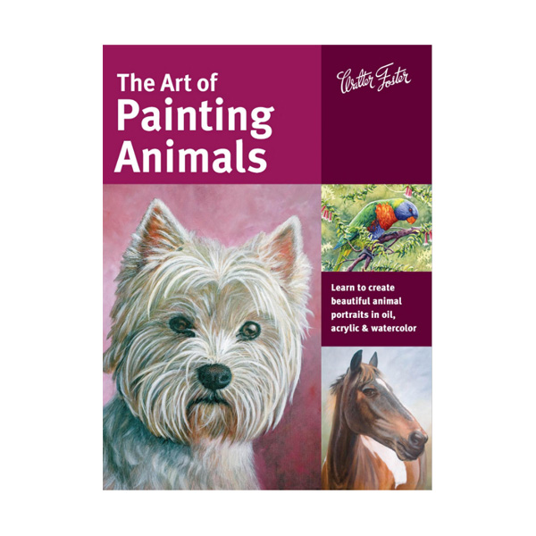 Walter-Foster-The-Art-of-Painting-Animals-Book-Cover-Page