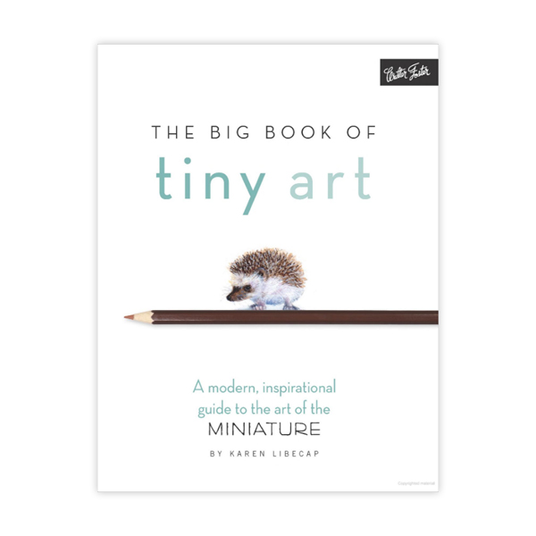 Walter-Foster-The-Big-Book-of-Tiny-Art-Cover-Page