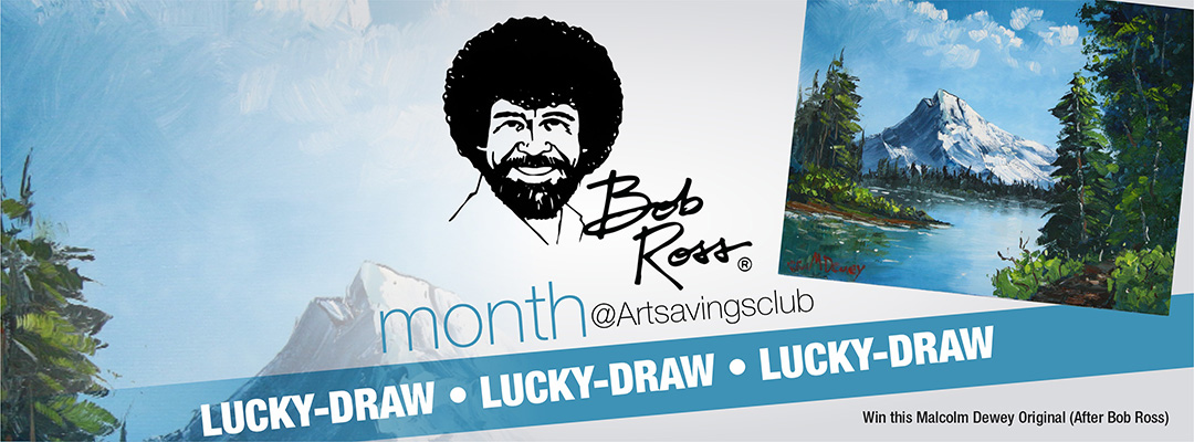 Bob-Ross-March-Month-Lucky-Draw