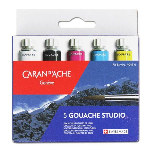 Caran DAche Gouache Studio 10ml Tube Set of 5