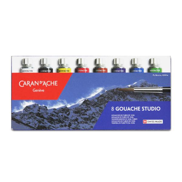 Caran DAche Gouache Studio Tube Set of 8