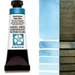 Duochrome Cabo Blue 15ml Tube – DANIEL SMITH Luminescent Watercolor